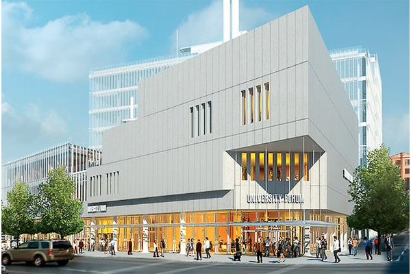 Artist rendering of the Forum at Columbia University