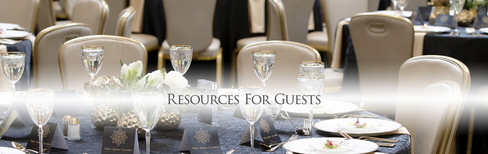 Resoures for Guests